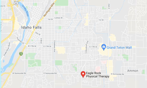 map to Eagle Rock Physical Therapy.